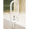 Carex White Bathtub Rail
