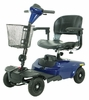 Drive Medical Bobcat 4 Wheel Compact Scooter in Blue