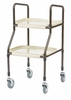 Drive Medical Handy Utility Trolley, Option: Without Hand Brakes