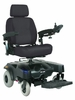 "Drive Medical Sunfire EC Power 18"" Wheelchair in Blue"