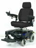 "Drive Medical Sunfire EC Power 20"" Wheelchair in Blue"
