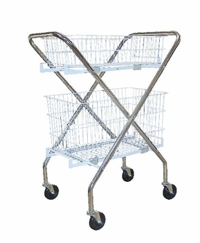 Drive Medical Utility Cart with Baskets
