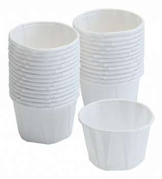 Graham Field Dry Waxed Paper Cup Size: 1 1/4 Oz. - 5000EA/CS