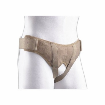 FLA Orthopedics Soft Form Hernia Belt, Large, 41 - 46 inches, Beige