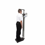 HealthOMeter 402KLWH (Health O Meter 402KL and Wheels) Physician Balance Beam Scale