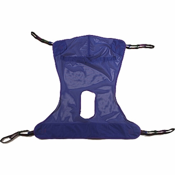 Invacare Full Body Mesh Sling with Commode opening Medium �
