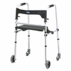 Invacare Walklite Walker with 5 in. Wheels