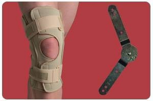 Knee Brace  Open Wrap Range of Motion  Small