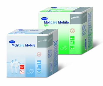 MoliCare Mobile Light Small Underwear Cs/56(4x14) 23� -35