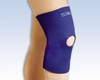 Safe-T-Sport Thermal Neoprene Knee Sleeve, Open Patella, Lg, Navy