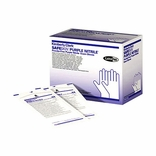 SafeSkin 55092 Purple Nitrile Sterile Exam Gloves-MED PF BX/50