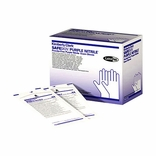 SafeSkin 55093 Purple Nitrile Sterile Exam Gloves-LG PF BX/50