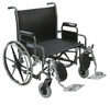 "Sentra 28"" Heavy-Duty Wheelchair with Wide Detachable Desk Arms"