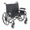 "Sentra 28"" Heavy-Duty Wheelchair with Wide Detachable Full Arms"