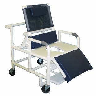 Shower Chair  Bariatric  PVC Reclining  with ELR