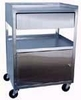 Stainless Steel Cabinet Cart with Drawer