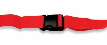 Stretcher & Backboard Strap Quick-Release  9'  Orange