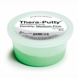 Graham Field Thera Putty Medium Firm Resistance Green, 4 Oz.