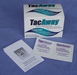 Torbot TacAway Adhesive Remover Wipes (Box of 50)
