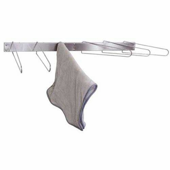 Towel Drying Rack Folding 6-Hook Wall Mount