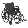 "Viper Plus GT 22"" Wheelchair Detachable Adjustable Desk Arms and Swing-Away Footrest"