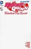 DC Comics Harley Quinn Valentine's Day Special Blank Variant Cover Comic