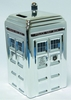 Doctor Who Chrome Tardis Ceramic Money Bank