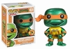 Funko Pop TV Vinyl 62 Teenage Mutant Ninja Turtles Michelangelo Metallic Figure
