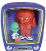 FunkoVision Looney Tunes Gossamer & Mad Scientist Vinyl Figures