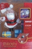 Rudolph the Red-Nosed Reindeer Santa Claus Figure