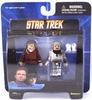 Star Trek Minimates Admiral Kirk and Duty Uniform Scotty Set