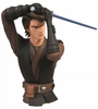 Star Wars Clone Wars Anakin Skywalker Bust Coin Bank