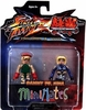 Street Fighter X Tekken Cammy vs Nina Minimates Figure Set