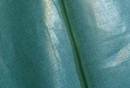 Metallic Linen 61 Silver on Turquoise Medium Sale