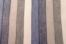 Multi Even Stripe Linen Fabric