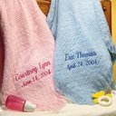 100% Cotton Baby Blanket - Personalized