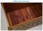 100%  Real Wood Toy Chest - click to Enlarge