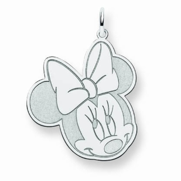 14k Gold Disney Large Minnie Mouse Charm
