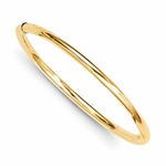 14K Gold Pure Baby Bangle