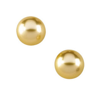 4K gold-crafted Natural Pearl Stud Earrings