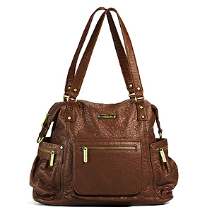 Abby Cinnamon Diaper Bag by Timi & Leslie