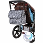 Amber Tote Lace Floral Diaper Bag by Bumble Bags - click to Enlarge