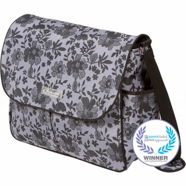 Amber Tote Lace Floral Diaper Bag by Bumble Bags