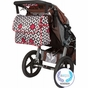 Amber Tote Royal Ruby Montage Diaper Bag by Bumble Bags - click to Enlarge