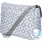 Amber Tote Sky Blue Montage Diaper Bag by Bumble Bags - click to Enlarge