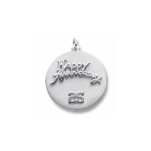 Anniversary Charm by Forever Charms - Personalized