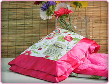 Antique Floral Velour with Solid Luxe Blanket by My Blankee
