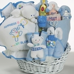 Baby Bliss Gift Basket  (Boy)