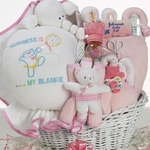Baby Bliss Gift Basket  (Girl)
