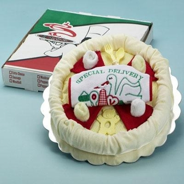 Baby Pizza Lover Gift Set